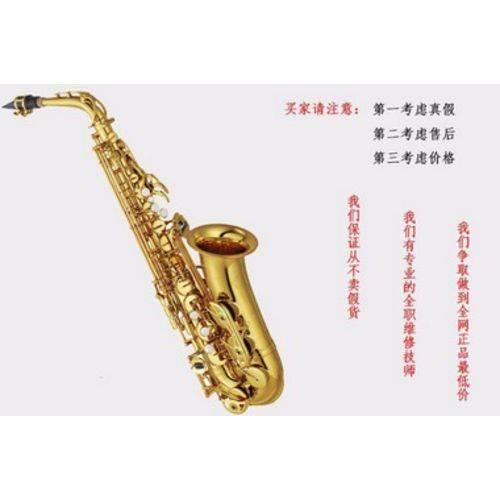 Sax Alto Yamaha Yas 875 com Assessórios Completo