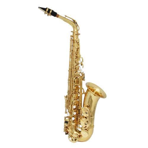 Sax Alto Zion By Plander As290l Semi-profissional Laqueado,