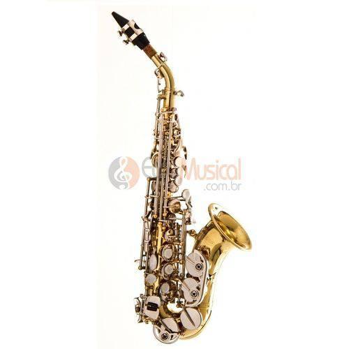 Sax Soprano Curvo Hoyden Laqueado C/ Chaves Niq