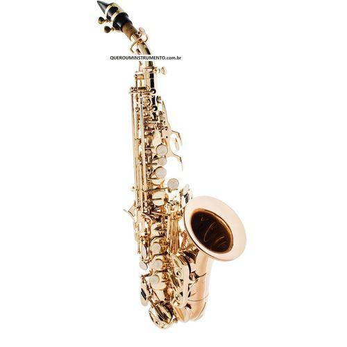 Sax Soprano Curvo Prowinds C/ Corpo Laqueado #PW311-L