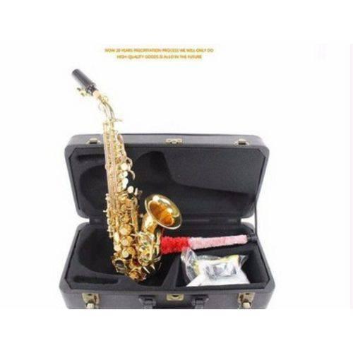 Sax Soprano Curvo Selmer MODELO R54 ACTION LAQUEADO COMPLETO