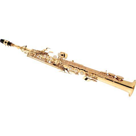 Sax Soprano Eagle Sp502 em Sib