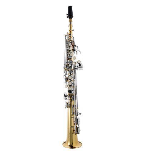 Sax Soprano Prowinds -Laqueado C/ Chaves Niqueladas-PW310-LN