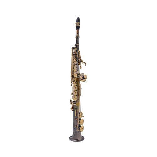 Sax Soprano Reto Prowinds - Bb - Black Niquel - PW310-BK