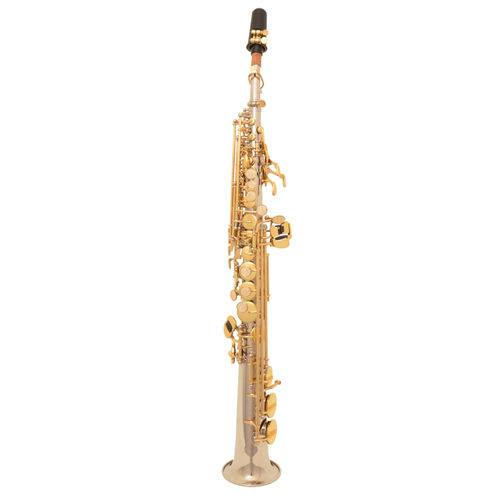Sax Soprano Zion By Plander Ss300nl Niquelado Chaves Laquea