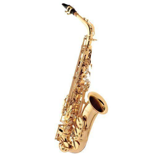 Saxofone Alto com Case Sa501 L Eagle Laqueado