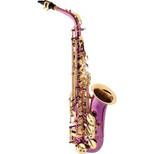 Saxofone Alto Eagle Sa500tp em Mib (Eb) com Case - Violeta