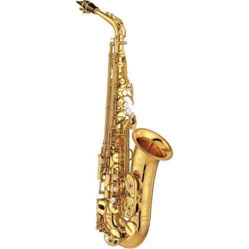 Saxofone Alto Eb Yas875ex Laqueado Dourado Yamaha