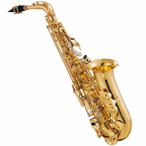 Saxofone Alto Jupiter Jas 500 Gold Lacquer em Eb