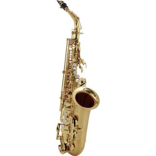 Saxofone Alto Sax Jupiter Jas700q Dourado Laqueado Eb com Case