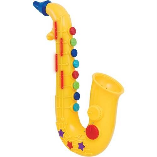Saxofone de Atividades Amarelo Yes Toys