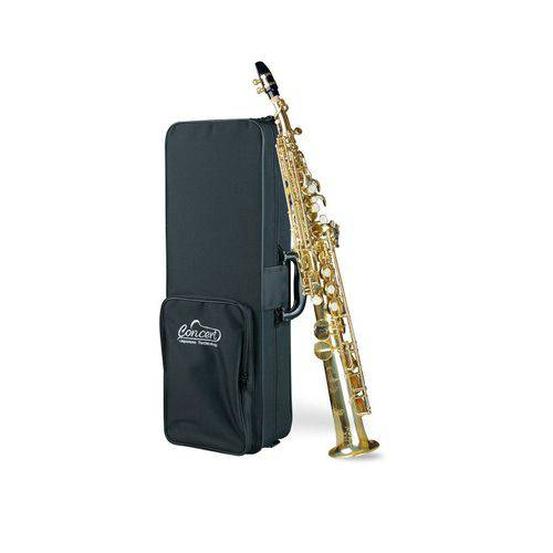 Saxofone Soprano Concert Css650 + Estojo