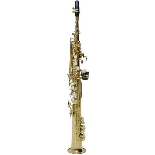 Saxofone Soprano Reto Ny Ss200 em Sib (Bb) com Case - Laqueado