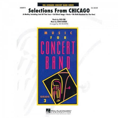 Selections From Chicago Score Parts Essencial Elements