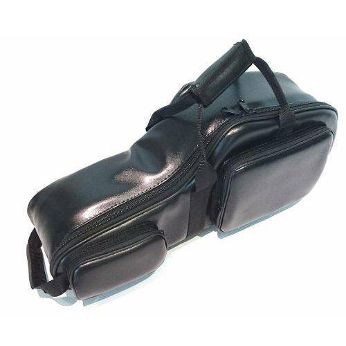 Semi Case (bag) para Sax Alto em Couro Ecológico Preto