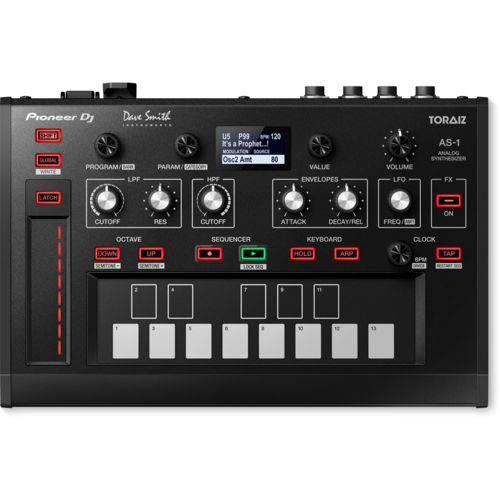 Sintetizador Analógico Monofónico Pioneer DJ Toraiz As-1