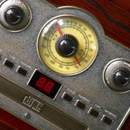 Sistema de Áudio Classic C/ Toca-Discos, AM/FM, Cassete, CD Players, Saída de Áudio e Entrada Auxiliar - CTX Classic - CTX