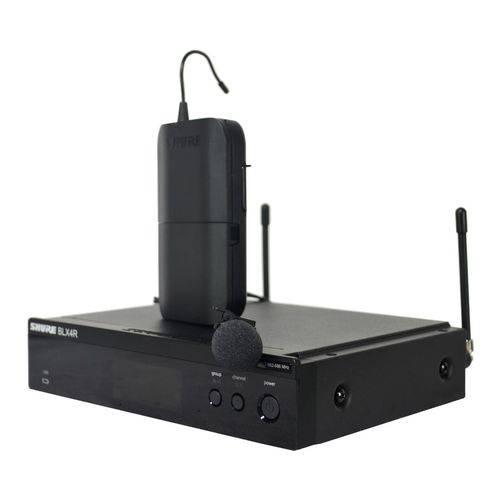 Sistema de Microfone Sem Fio de Lapela Shure BLX14RBRWL93