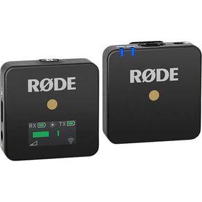 Sistema de Microfone Sem Fio Rode Wireless GO Compacto (2.4GHz)