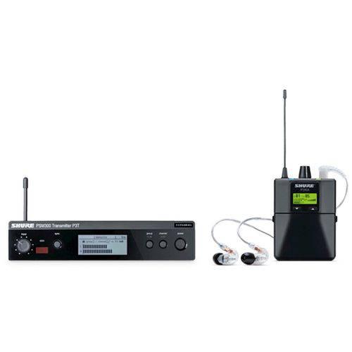 Sistema de Monitor Shure P3T BR RA 215 CL K 12