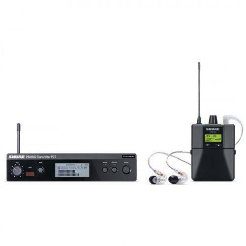 Sistema de Monitoramento In Ear P 3 Tra 215 Cl Preto Shure