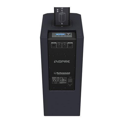 Sistema de PA Ativo Compacto Portátil 1000W - IP 1000 Turbosound