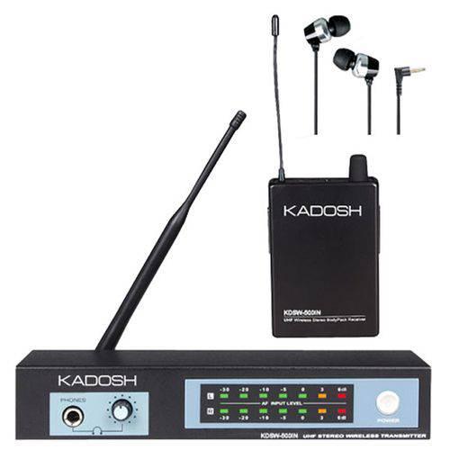 Sistema In Ear Monitoramento Sem Fio Kdsw-500 In - Kadosh