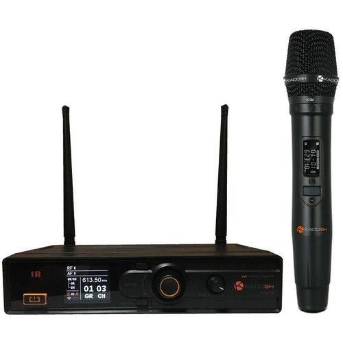 Sistema Microfone Sem Fio de Mão Kdsw-501 M Dig/uhf - Kadosh