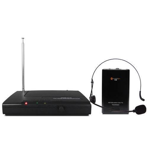 Sistema Microfone Sem Fio Kdsw 231h Headset Fine Kadosh