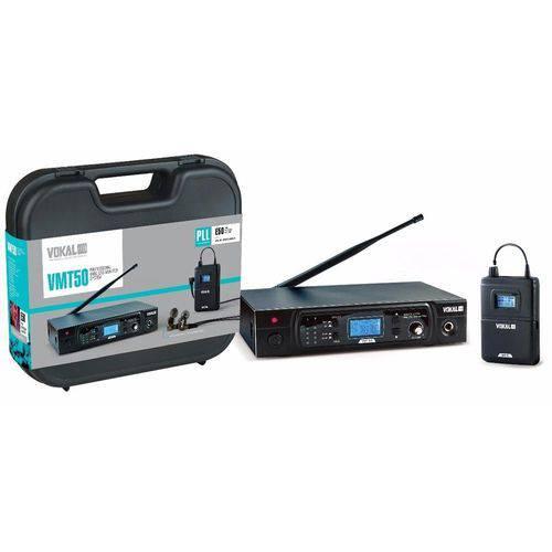 Sistema Monitor Retorno S/ Fio Vokal VMT-50 16 Canais