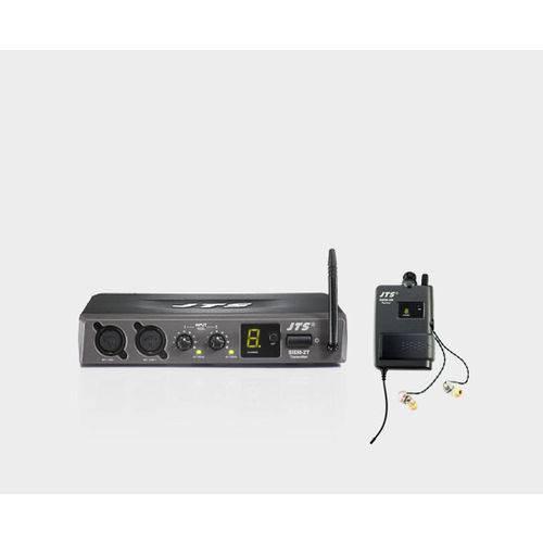 Sistema Monitor Sem Fio de Retorno para Músicos JTS SIEM-2