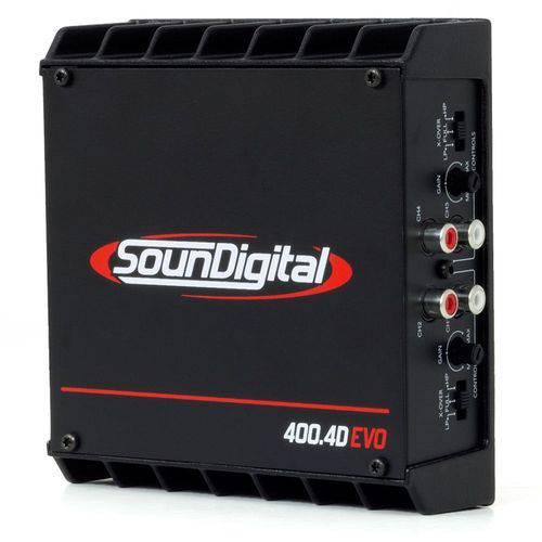Soundigital Sd400.4d Evo 2 / Sd 400.4 / Sd400 Evo - 524w Rms