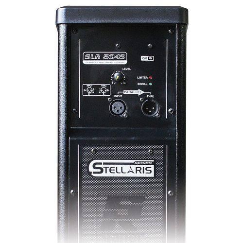 Staner SLR 504S | Caixa Ativa Coluna Vertical Preta
