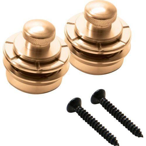 Strap Lock para Instrumentos NSL7200G Dourado (Par) - On Stage