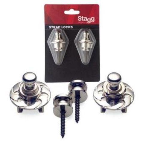 Strap Lock Stagg Ssl1 Cr - Cromado