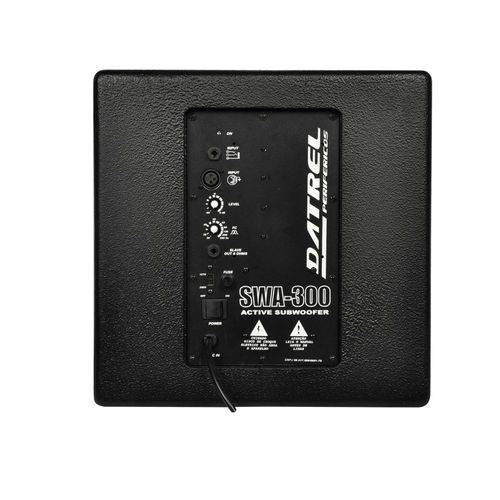 Subwoofer Grave Ativo 300 Watts S.A 300 - Datrel