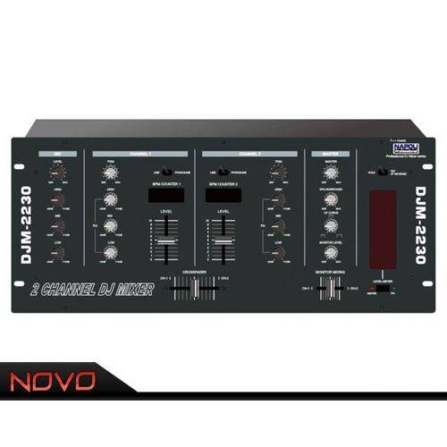 Super Dj Mixer Djm-2230 2 Ch Rack Black Napoli