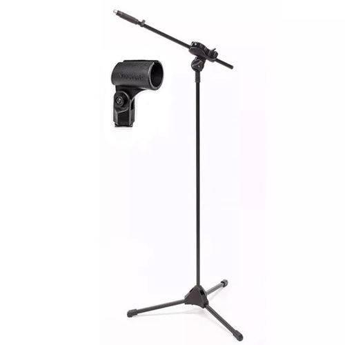 Suporte Pedestal de Microfone Ibox Smlight com Cachimbo