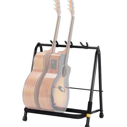 Suporte Rack para 3 Instrumentos (Guitarra, Baixo ou Violão) GS523B - Hercules
