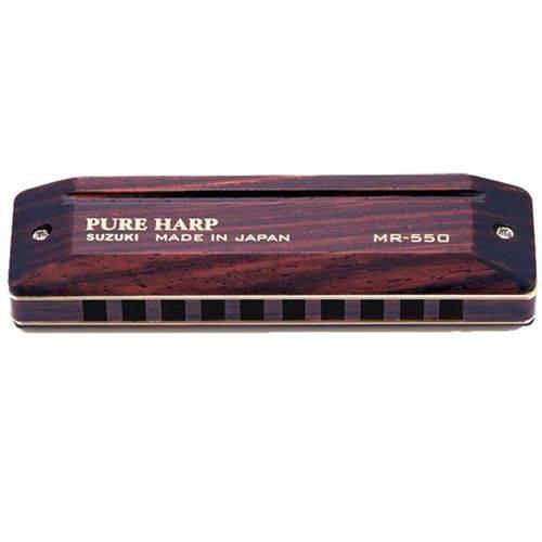 Suzuki - Gaita Mr550c Pure Harp
