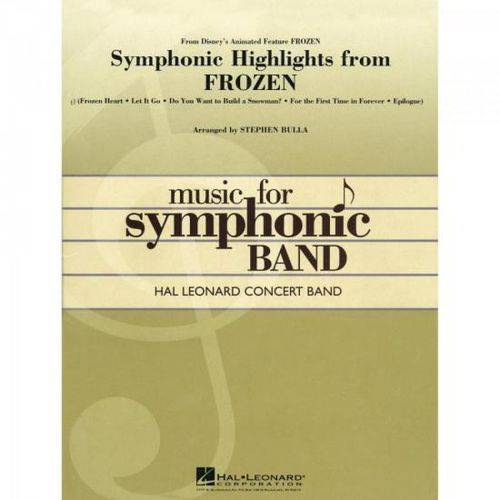 Symphonic Highlig. From Frozen Score Parts Essencial Elements