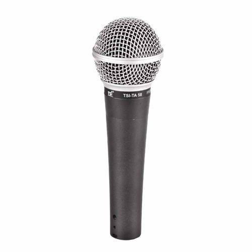 Ta58 - Microfone C/ Fio de Mão Ta 58 - Tsi