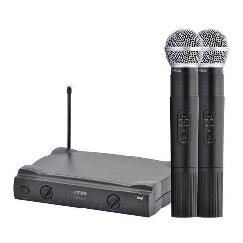 Tag Sound - Microfone Duplo Sem Fio de Mão