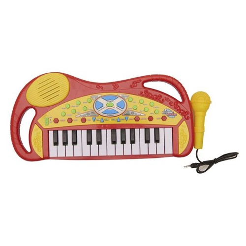 Teclado com Microfone HA0040 Havan Vermelho Vermelho