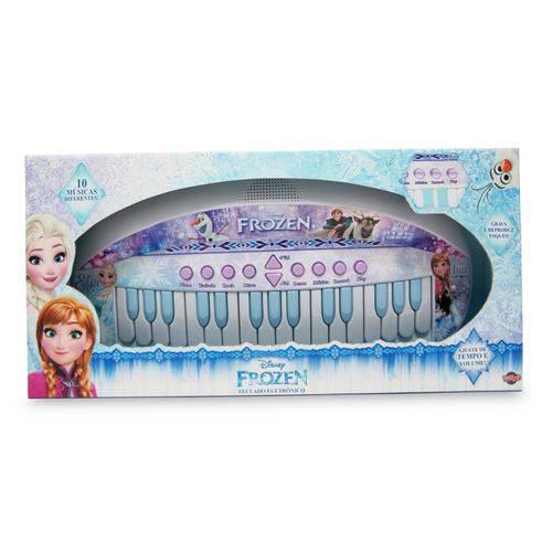Teclado Eletrônico Frozen - Toyng