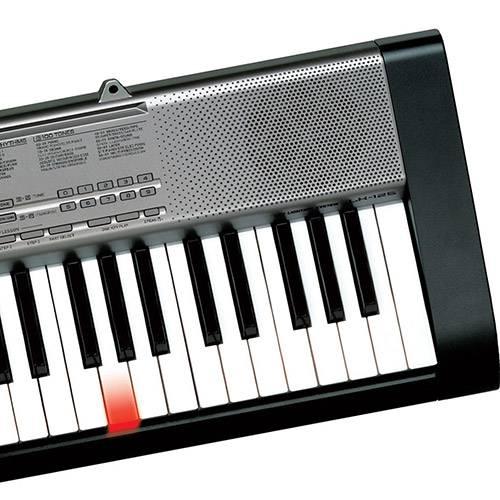Teclado Eletrônico Portátil Casio com Teclas Iluminadas LK-125