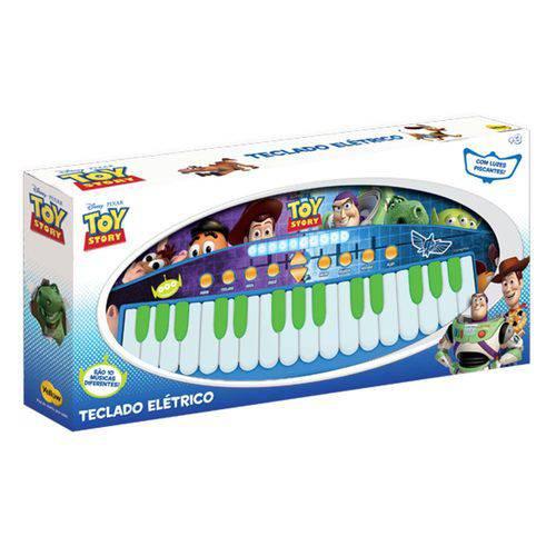 Teclado Musical Toy Story 31 Teclas Musicais