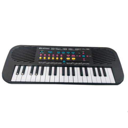 Teclado Piano Eletrônico Musical Infantil Hs-3755a