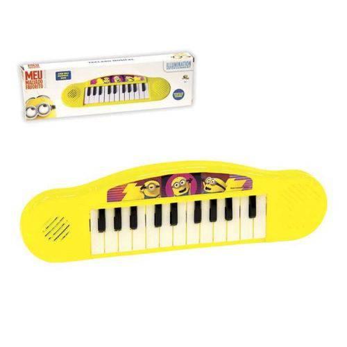 Teclado Piano Infantil Musical Meu Malvado Favorito Minion