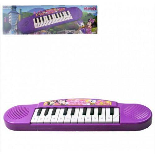 Teclado Piano Minnie Infantil 32 Cm